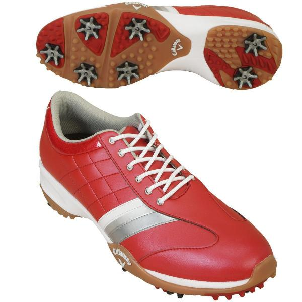 キャロウェイゴルフ Callaway Golf ゴルフシューズ 2477983503 25.5cm レッド 100