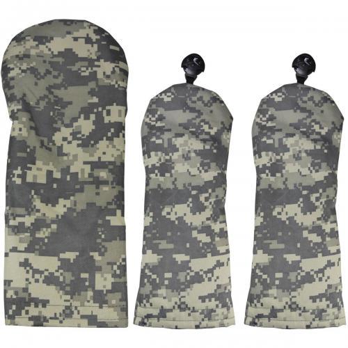 AZROF アズロフ ヘッドカバー デジカモグレー(DR用×1+FW用×2) 3点セット