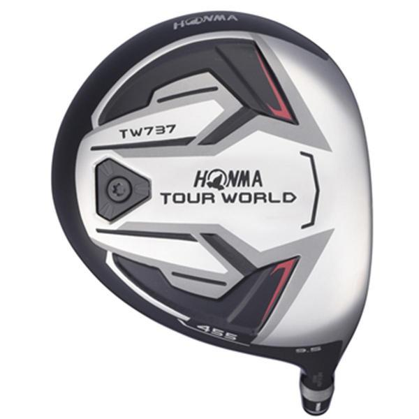本間ゴルフ TOUR WORLD ツアーワールド TW737 455 ドライバー VIZARD EX-A55/A65 シャフト:VIZARD EX-A65 S 45.5 9.5 58.5