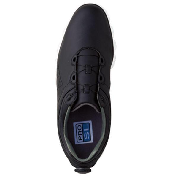 フットジョイ Foot Joy 17 プロSL ボア シューズ 25.5cm ブラック