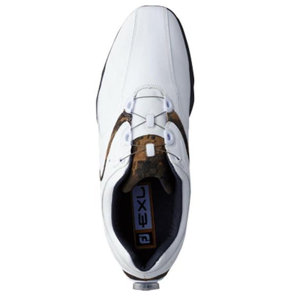 フットジョイ Foot Joy 16 EXL スパイクボア シューズ 25.5cm ホワイト/シルバー