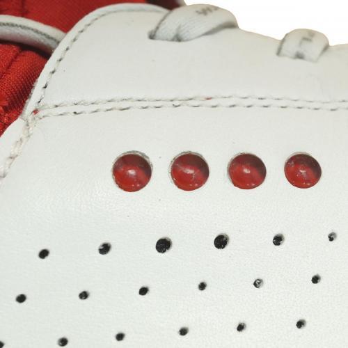 ecco エコー ゴルフ クール シューズ 130114 26cm ホワイト/レッド