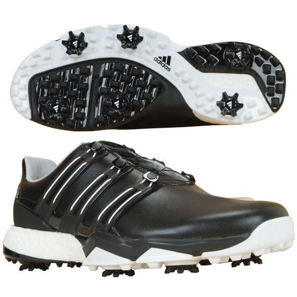 アディダス Adidas パワーバンド ボア ブースト シューズ WI926 27cm コアブラック/コアブラック/ホワイト Q44769
