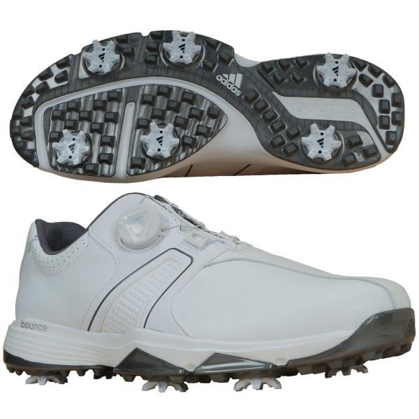 アディダス Adidas 360トラクション ボア ワイド シューズ WI917 25.5cm ホワイト/ホワイト/シルバーメタリック Q44727