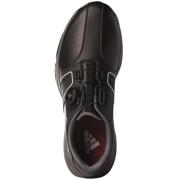 アディダス Adidas 360トラクション ボア ワイド シューズ WI917 28cm ホワイト/コアブラック/ソーラーイエロー Q44730