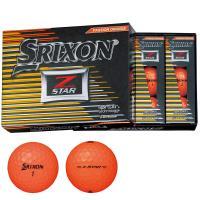 ダンロップ SRIXONZ-STAR ボール 1ダース(12個入り) プレミアムパッションオレンジ