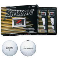 ダンロップ SRIXONZ-STAR ボール 1ダース(12個入り) ホワイト