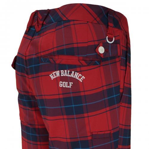 ニューバランス New Balance METRO タータンチェックテーパードロングパンツ 012-7131008