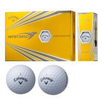 キャロウェイゴルフ WARBIRDウォーバード ボール 2017年モデル 1ダース(12個入り) ホワイト
