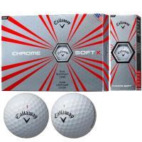 キャロウェイゴルフ CHROM SOFT クロムソフト X ボール 2017年モデル 1ダース(12個入り) ホワイト