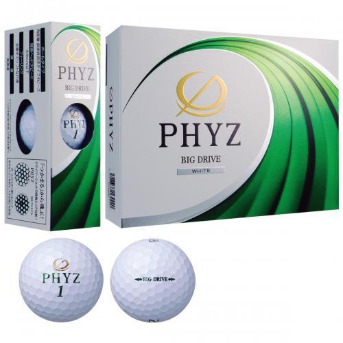 ブリヂストン PHYZ PHYZ ボール 2017年モデル 3ダースセット 3ダース(36個入り) ホワイト