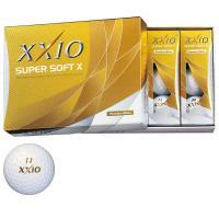 ダンロップ XXIOゼクシオ SUPER SOFT X 1ダース(12個入り) プレミアムホワイト