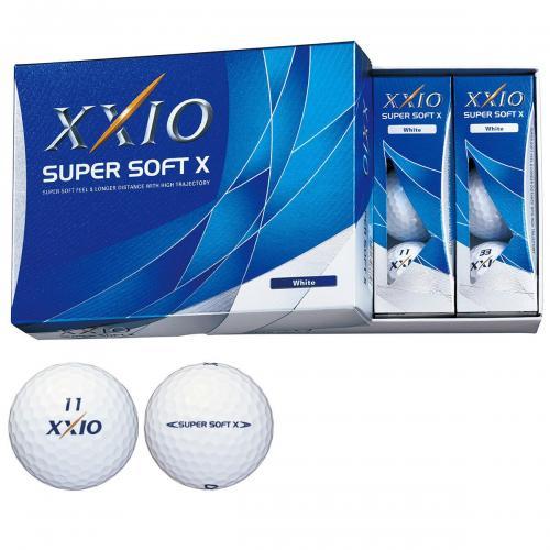 ダンロップ XXIO ゼクシオ SUPER SOFT X 1ダース(12個入り) プレミアムピンク