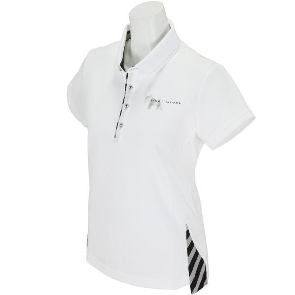 ヒールクリーク Heal Creek 半袖ポロシャツ 002-25541 レディス