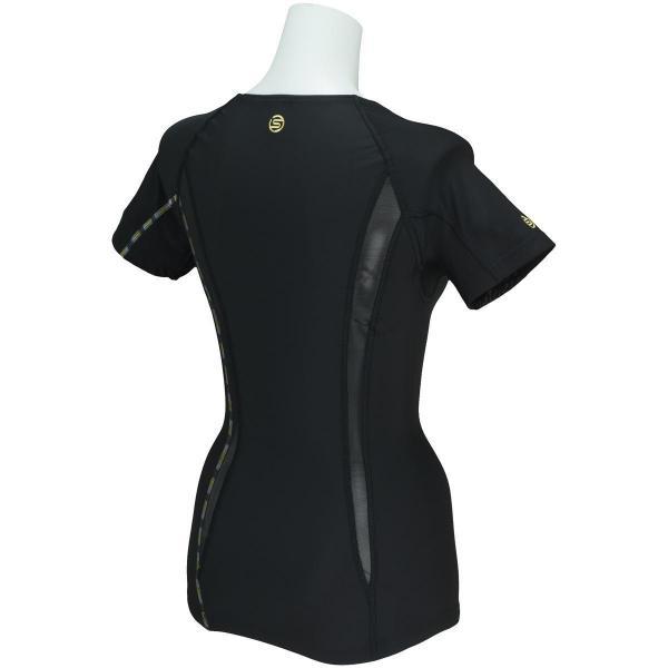 スキンズ Skins DNA 半袖アンダーシャツ DK9906004 レディス