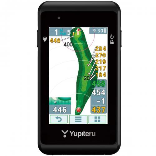 ユピテル YUPITERU ゴルフナビ YGN5200 ブラック