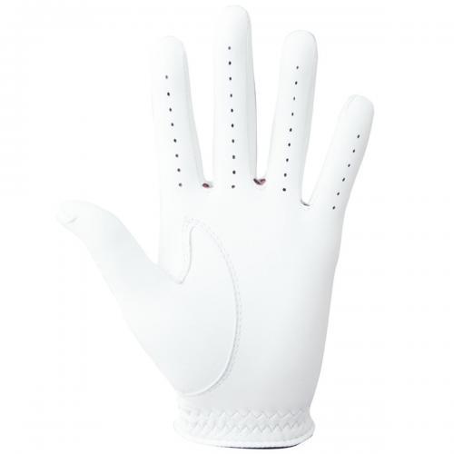 フットジョイ Foot Joy 17 ステイソフグローブ FGSS17 5枚セット 25cm 左手着用(右利き用) ホワイト