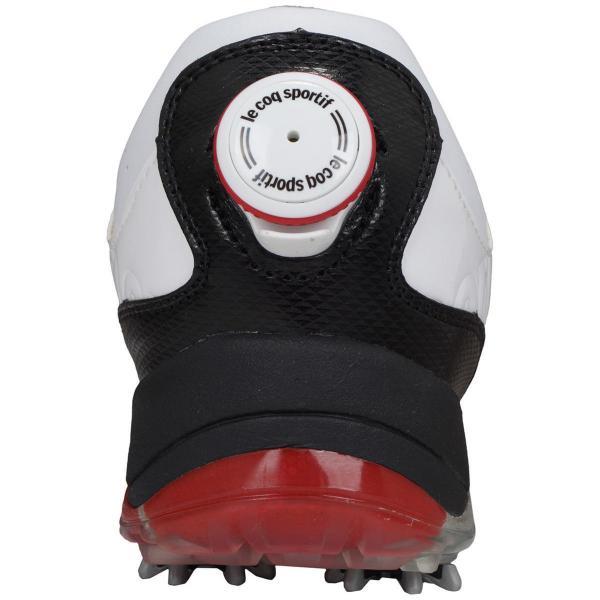 ルコックゴルフ Le coq sportif GOLFシューズ 25cm ホワイト/ホワイト XN30