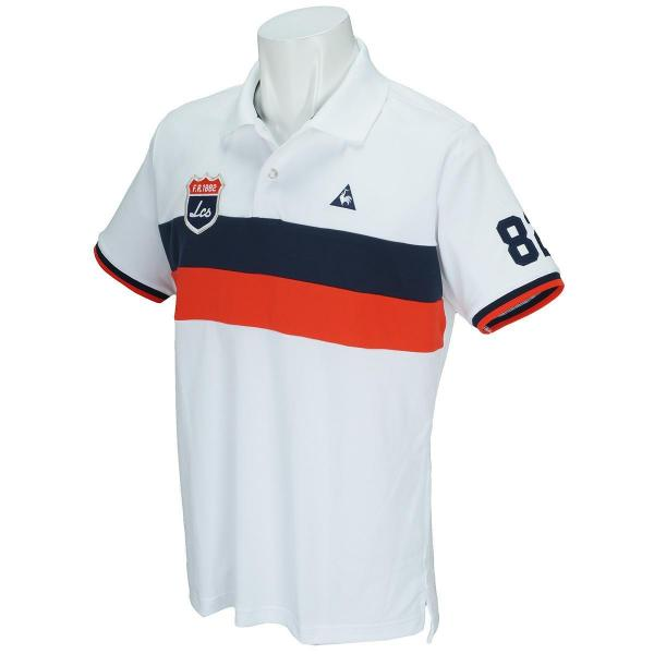 f8b30b5defc03f LOHACO - ルコックゴルフ Le coq sportif GOLF半袖ポロシャツ ジュニア ...