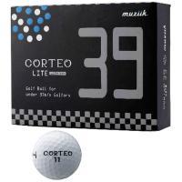ムジーク CORTEOコルテオライト39 ボール 1ダース(12個入り) ホワイト
