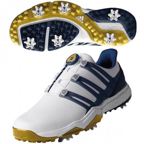 アディダス Adidas Final Major LTD パワーバンド ボア ブーストシューズ F33757 25cm ホワイト/カレッジエイトロイヤル/ゴールドメタリック