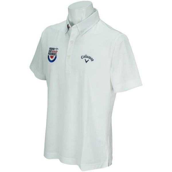 キャロウェイゴルフ Callaway Golfスクーターボタンダウンカラー半袖ポロシャツ