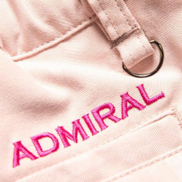 アドミラル Admiral ストレッチダズルエンボス プリーツショートパンツ ADLA760 レディス