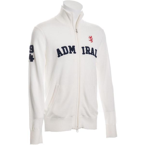 アドミラル Admiral さがらロゴ フルジップセーター ADMA782
