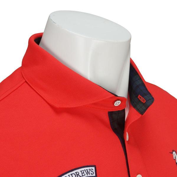セント・アンドリュース St ANDREWS WHITE LABEL 長袖ポロシャツ 042-7261001