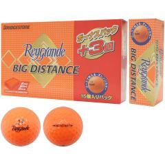 ブリヂストン Reygrande レイグランデ ビッグディスタンス ボール ボーナスパック 15個り 15個り オレンジ