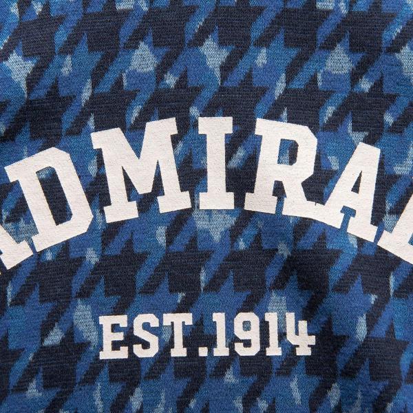 アドミラル Admiral ストレッチ 千鳥カモミックス 長袖タートルネックシャツ ADMA7P9