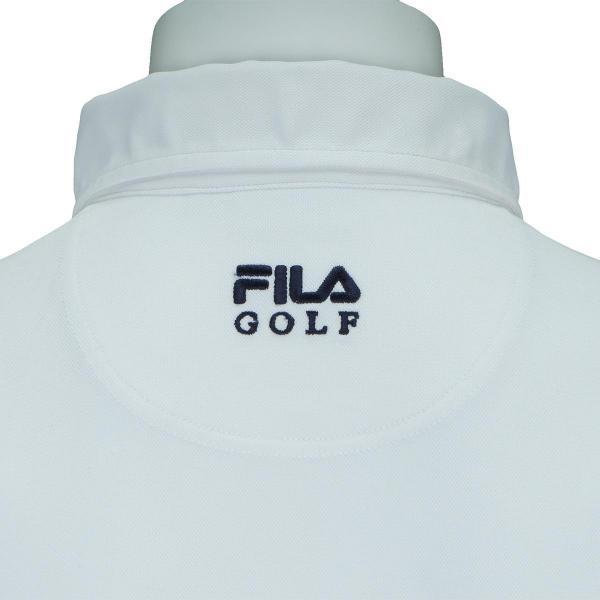 フィラ FILA 長袖ボタンダウンポロシャツ付きVネックニットベスト 787800