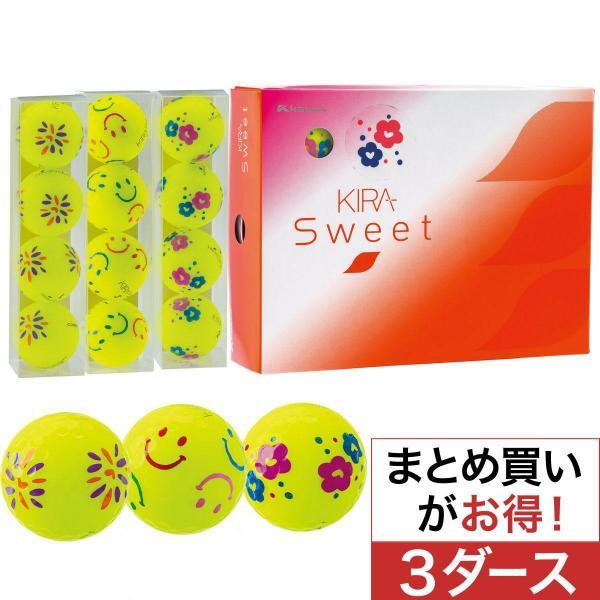 キャスコ KIRA KIRA SWEET キャラボール 3柄ミックス 3ダースセット 3ダース(36個入) ライム レディス