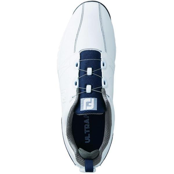 フットジョイ Foot Joy ウルトラFIT ボア シューズ 5414 27cm ホワイト/ネイビー/レッド
