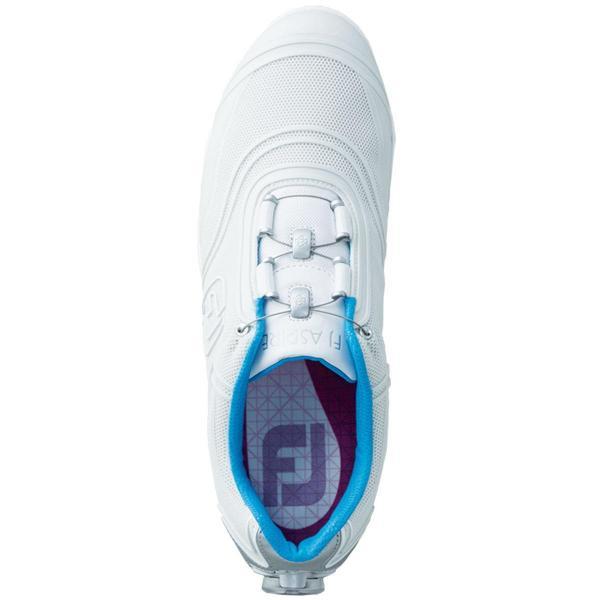 フットジョイ Foot Joy アスパイア ボア シューズ 23.5cm ホワイト レディス
