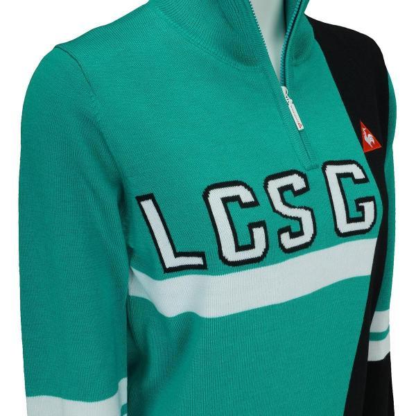 ルコックゴルフ Le coq sportif GOLF ハーフジップセーター QGL4171 レディス