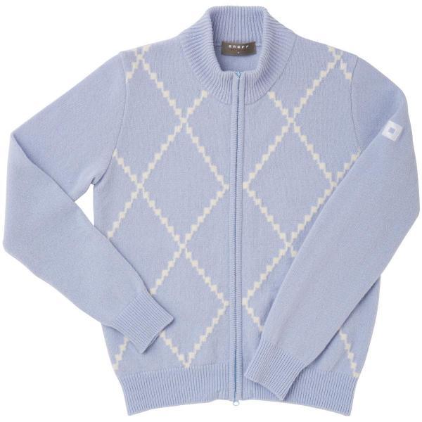 オノフ ONOFF ジップセーター OLE602 レディス