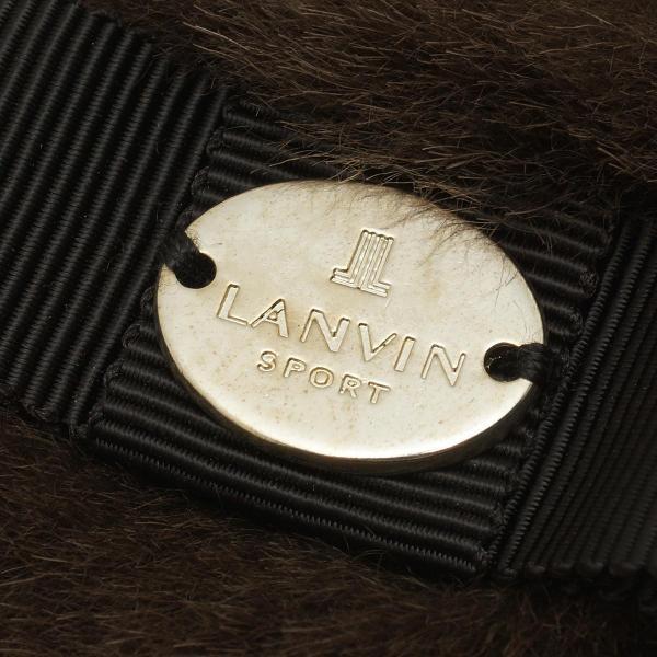 ランバン スポール LANVIN SPORT ハンドウォーマー 両手用 VLK0215A0 フリー 両手用 ブラック N13 レディス