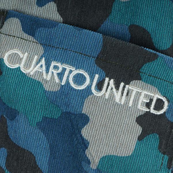 クアルトユナイテッド CUARTO UNITED ストレッチカモフラフレアスカート G2124 レディス