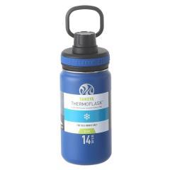 タケヤ TAKEYA サーモフラスク 0.4L 真空ステンレスボトル 保冷専用 TFK-14 ディープブルー