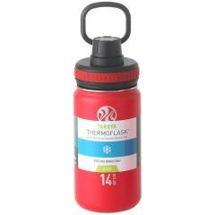 タケヤ TAKEYA サーモフラスク 0.4L 真空ステンレスボトル 保冷専用 TFK-14 レッド