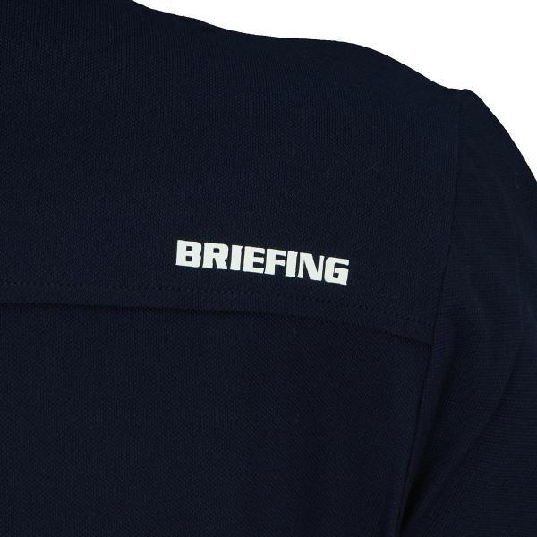 ブリーフィング BRIEFING 半袖ポロシャツ BG1731701