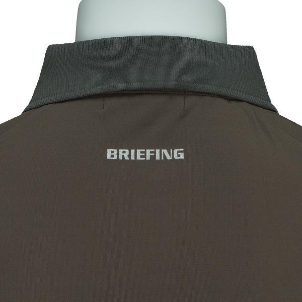 ブリーフィング BRIEFING ストレッチ半袖ポロシャツ BG1731703