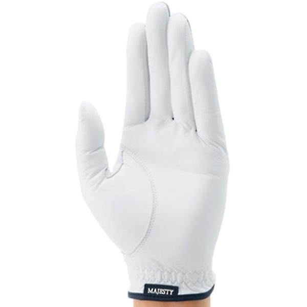 マルマン MAJESTYグローブ 21cm 左手着用(右利き用) ホワイト