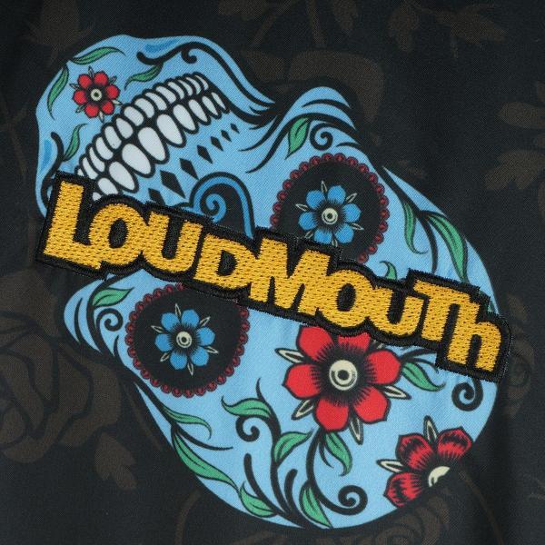 ラウドマウスゴルフ Loud Mouth Golf ネックウォーマー付きリバーシブル2WAYプルオーバー