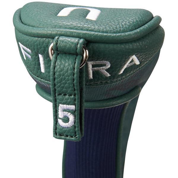 フィドラ FIDRA ソックスヘッドカバー UT用 有り/番手付け替え式(マジックテープ式)(2、3、4、5、☆) イエロー