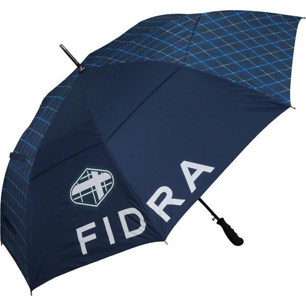 フィドラ FIDRA チェックプリント柄傘