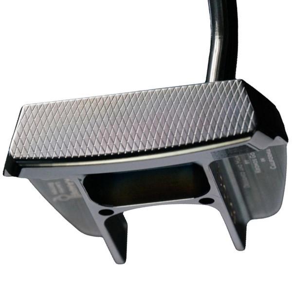 クロノスゴルフ kronosgolf クロノスパター KAMPE 1st シャフト:ステップレス ブラックPVD スチール