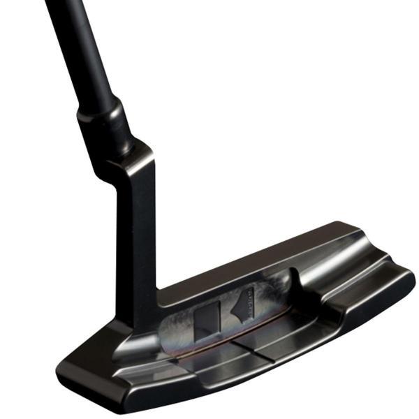 クロノスゴルフ kronosgolf クロノスパター CORNET Sound-Slit Black シャフト:カーボン330プロト