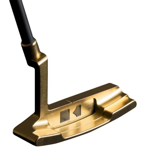 クロノスゴルフ kronosgolf クロノスパター CORNET Sound-Slit Gold シャフト:カーボン345プロト